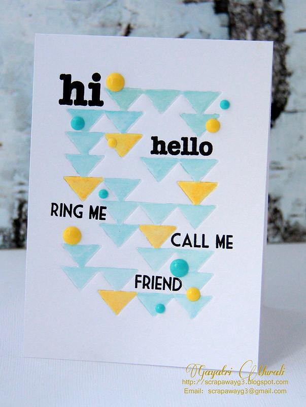 Hi Hello! Card