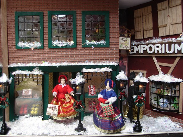 victorian christmas scenes - photo #38