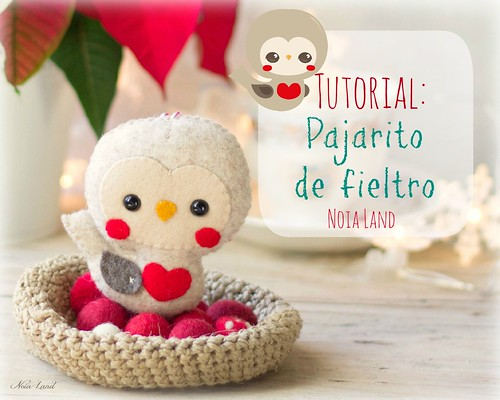Tutorial: pajarito de fieltro