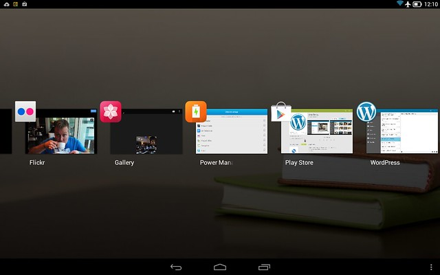 Screenshot on Lenovo Yoga Tablet