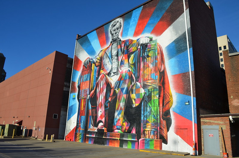 Lincoln Mural - Lexington, Kentucky