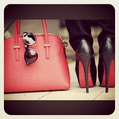 The color of the day is RED