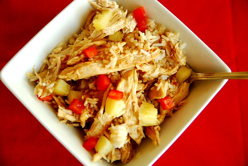 Crock Pot Honey Ginger Chicken Bowls