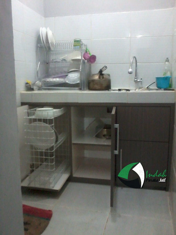 Dapur minimalis top table semen