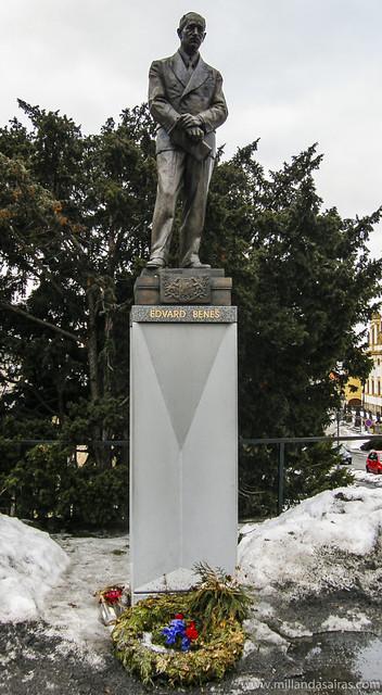 Estatua de Edvard Beneš