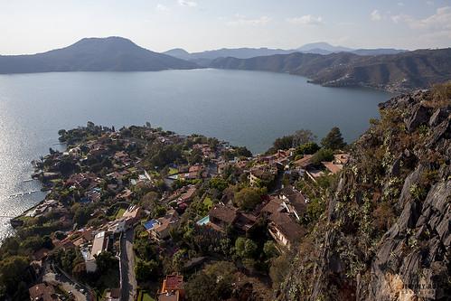mountain lake mexico scenic pena peña valledebravo avandaro