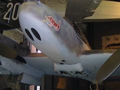 Felújított, szépséges Me-110 közelről.