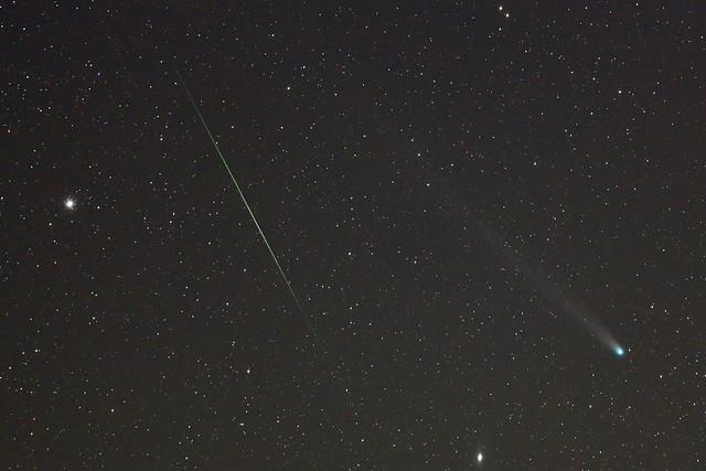ラブジョイ彗星とふたご座流星群  C/2013 R1+Geminids