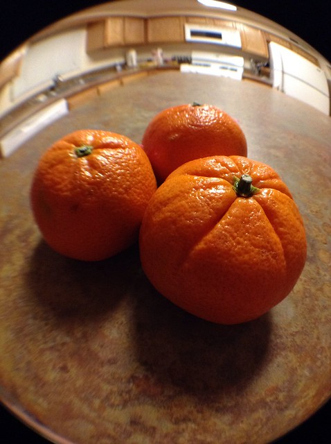 "I call this one ""Oranges in my Kitchen."""