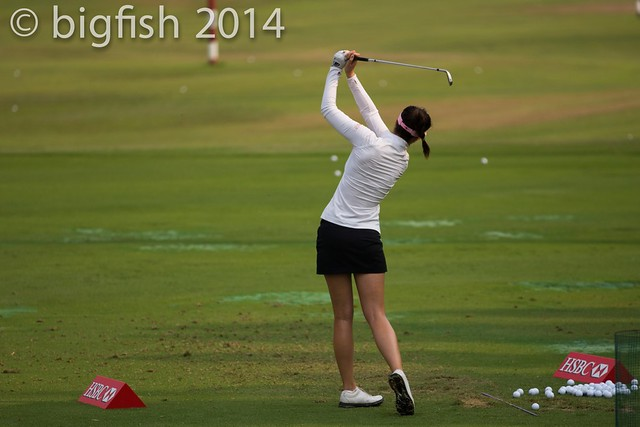 Some ladies golfers - Practice Round - Day 2 (some pics) 12761497513_c7c6034f04_z