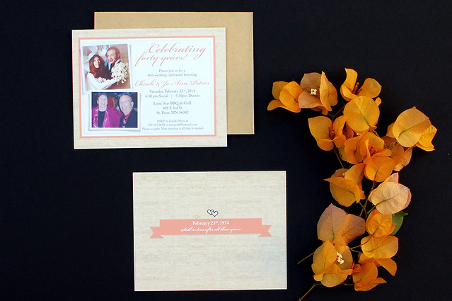 40th Anniversary Invitations 01