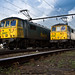 86627 and 86638 Crewe Basford Hall by Dan - DB Photography