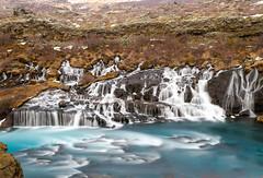 Island - Hraunfossar