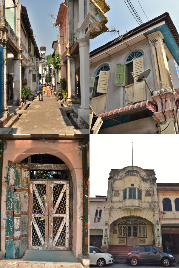 Collage Old Town Ipoh