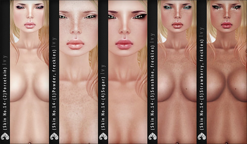 (r)M Skin No.14 (Ivy), overView (Human, Light Skin Shades)