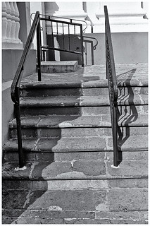 Stairs, Railings and Shadows