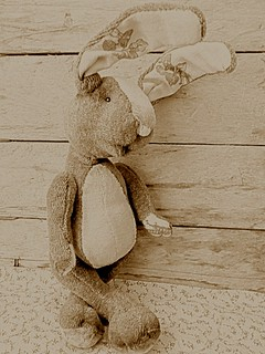 A Rabbit in Sepia