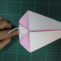 วิธีพับกระดาษเป็นรูปเครื่องบินแบบบินไกล (SST Origami Airplane) 004