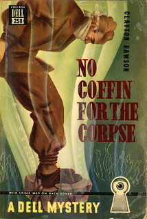 Dell Books 258 - Clayton Rawson - No Coffin for the Corpse