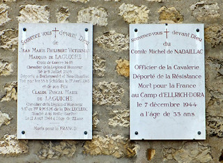 Nazi Camp Victims. Picpus Cemetery, Paris, France