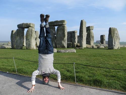 73. stonehenge headstand