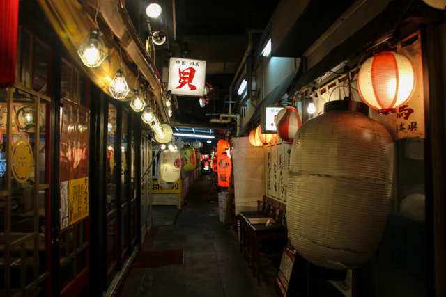 Izakaya in Tokyo, Japan