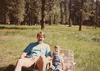 1990 Gerry and Patrick camping
