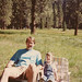 1990 Gerry and Patrick camping by Sonomabuzz