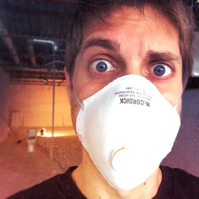 Work work. Dirty, grungy work, work