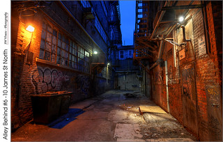 Alley Behind #6-10 James St North – (HDR-Hybrid)