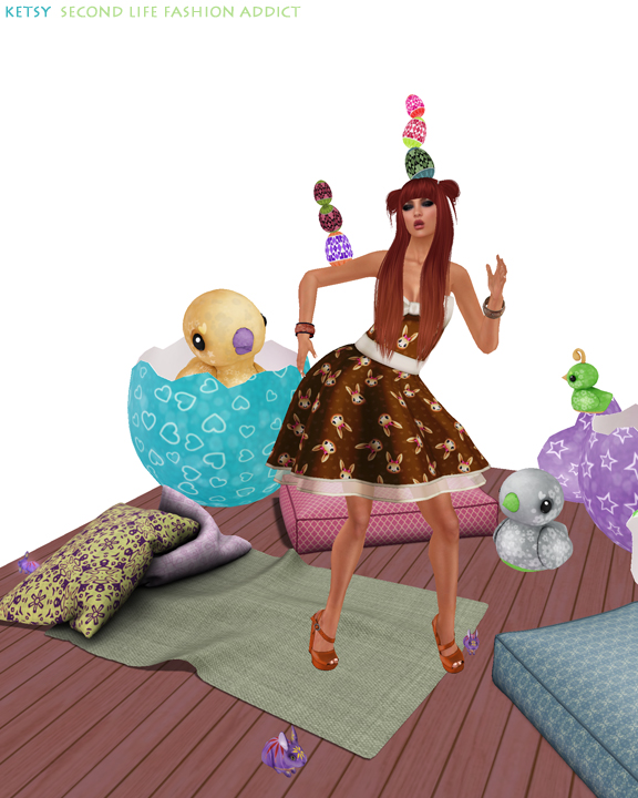 Silly Beans - NEW Blog Post @ Second Life Fashion Addict