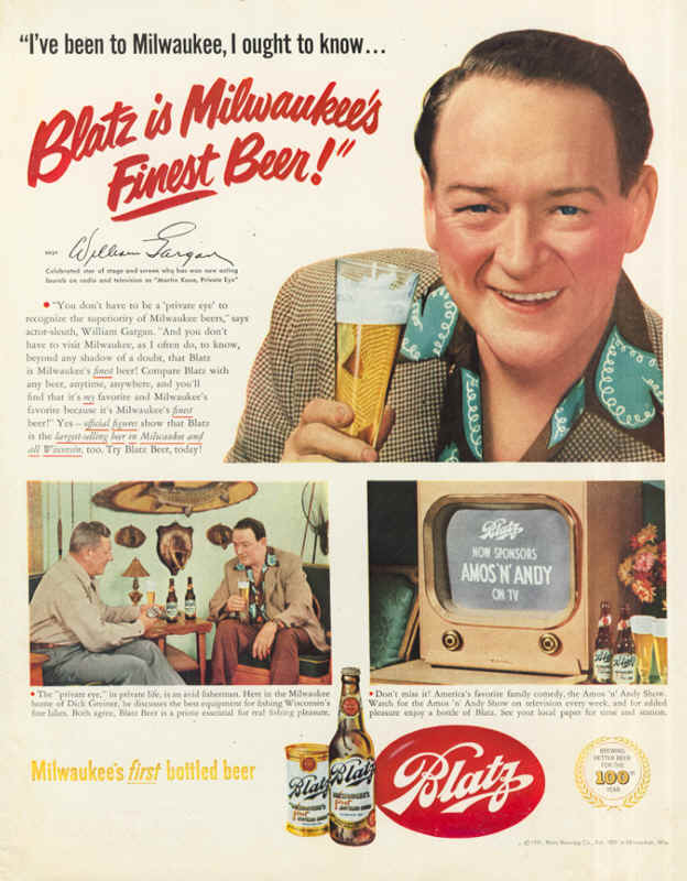 1951-Blatz-is-Milwaukees-Finest-Beer-William-Gargan