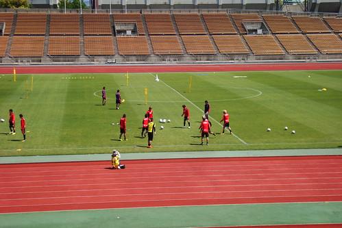 2014/04/24 京都サンガFC 西京極公開練習 #02