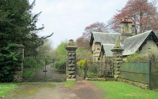 Balbirnie estate gates
