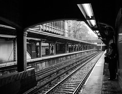 Subway and bad weather