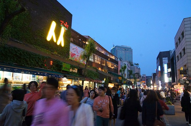 insadong seoul korea - night time-002