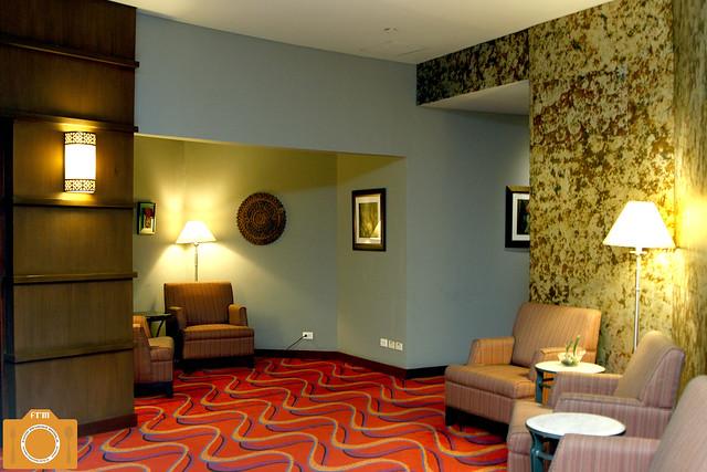Azurea Spa waiting area