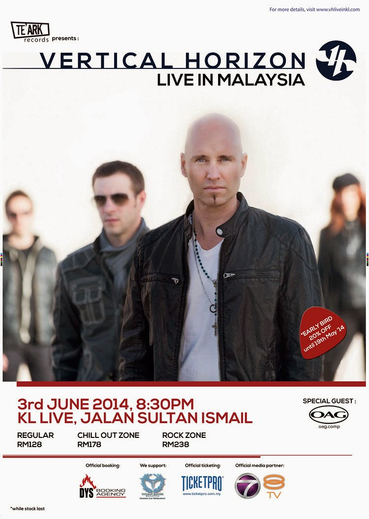 Konsert Vertical Horizon Live In KL 2014