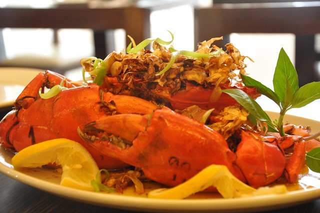 Hanoi Garlic Crabs - FoodPrints Davao