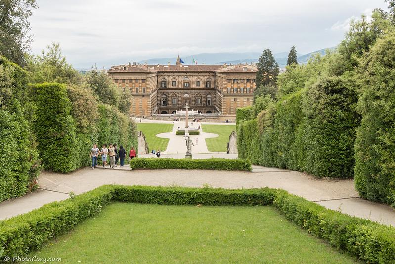Boboli garden and Pitti Palace