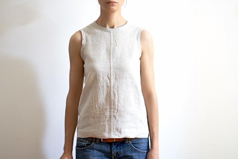 Simple Linen Top