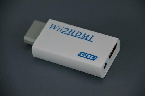 Wii2HDMI Converter