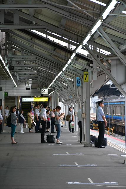 岡山駅2番のりば