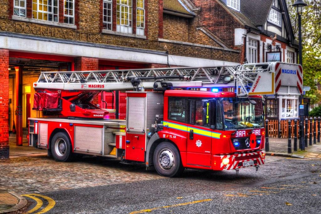 London - Dockhead Fire Station
