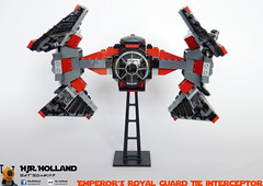 Emperors Royal Guard TIE interceptor 02