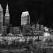 Cleveland BW Pano by StickWare