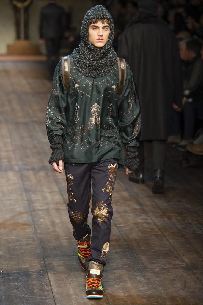 Robbie Wadge3670_FW14 Milan Dolce & Gabbana(VOGUE)