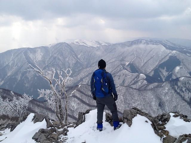 藤原岳 山頂からの眺望 イグニオ