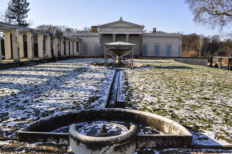 POTSDAM - Park Sanssouci - Schloss Charlottenhof