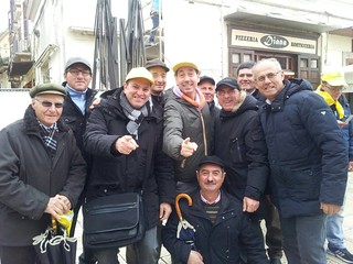 La Coldiretti Turi a Bari per lo sciopero nazionale